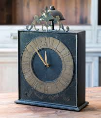 Outdoor Pedestal Clock Thermometer Home Home Decor Home Accents Clocks Dillards Com