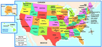 map of usa states denver us map and capitals map of usa states