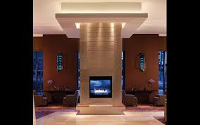 bilkey llinas design four seasons denver u2013 lobby fireplace