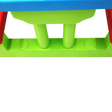 childrens bench and table set kids childrens picnic bench table set outdoor furniture 28 99