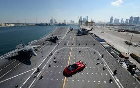 Lamborghini Veneno Forza 6 - lamborghini world premieres veneno roadster on an aircraft carrier