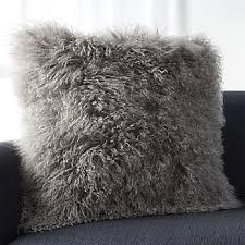 Grey Decorative Pillows Grey Decorative Pillows Crate And Barrel