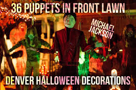 best halloween holiday house decorations 36 moving puppets