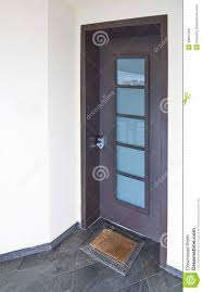 modern mediterranean house door stock photo image 48645050