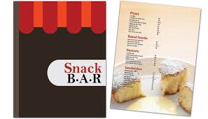 snack bar menu template flyer template for snack bar cafe deli restaurant order custom