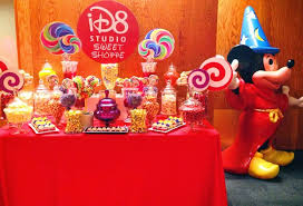 mickey mouse clubhouse theme disney birthday party candy buffet