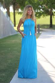 blue maxi dress sky blue maxi dress with pockets online boutiques saved by the