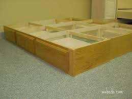 6 Drawer Bed Frame 6 Drawer Bed Pedestal Custom By Chris Davis Lumberjocks