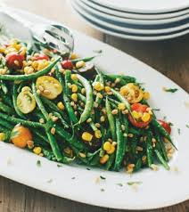 cuisine haricots verts haricot vert salad with avocado goddess dressing wizardrecipes