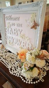 Baby Shower Table Centerpieces by Best 25 Peach Baby Shower Ideas On Pinterest Baby Shower Table