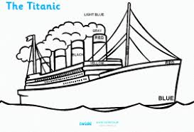 coloring pages of the titanic free printable titanic coloring pages for kids coloring home