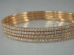 diamond studded buy diamond studded bangles from shemon jewels mumbai india id