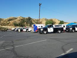 chp officers making inspections at saugus speedway u2014 hometown