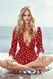 anna ewers beach fashion shoot anna ewers may 2015 harper u0027s