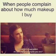 Too Much Makeup Meme - 14 makeup memes that every girl can relate to