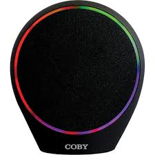 light up bluetooth speaker coby portable light up bluetooth speaker fesco distributors