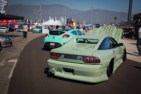 stanced maserati slammed society car show at formula drift finale photo u0026 image gallery
