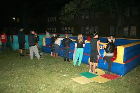 inflatable game rental iowa city night games at the u of i