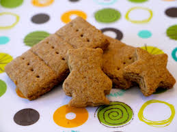 snack food recipe for how to make graham crackers for