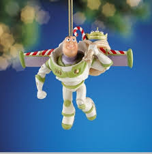 lenox disney merry and happy lightyear ornament buzz