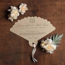 laser cut wedding programs laser cut fan wedding programs custom wedding programs fan
