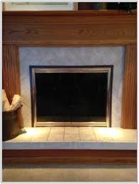 Fireplace Opening Covers the magnetic tape solution insulated decorative magnetic