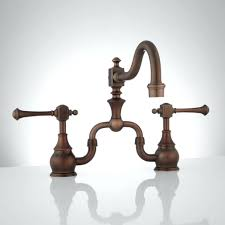 kitchen faucets vintage looking kitchen faucets bridge faucet