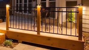 low voltage vinyl fence post lights low voltage post caps metal composite vinyl decksdirect