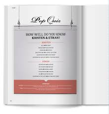 how to do a wedding program 34 best magazine programs images on wedding programs