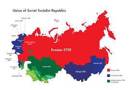 map of ussr map of ussr muslim majority ssrs and regions by nahmala on
