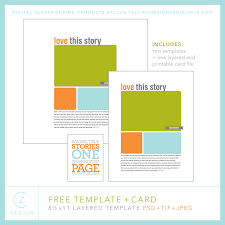 templates for scrapbooking a free template and take a mini class on how to use it