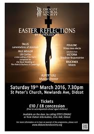 easter choral easter reflections 2016 03 19 19 30 00 to 2016 03 19 21 30 00