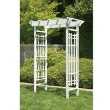 wedding arches home depot greenstone 83 in x 42 in outside white wood wedding arbor