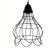 wire cage pendant light lighting australia industrial copper wire cage pendant l b