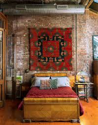 how to decorate an exquisite eclectic bedroom view in gallery rug on the wall makes for an interesting addition from ralo carpets