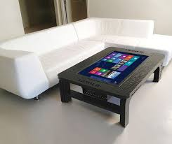 touch screen coffee table giant touchscreen coffee table computer