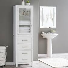Corner Storage Cabinet by Bathroom In Wall Bathroom Storage With Bathroom Shelf Designs