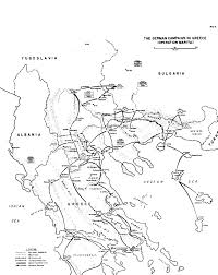 Map Of Ancient Greece And The Aegean World by The German Campaign In The Balkans Spring 1941 Part Iii
