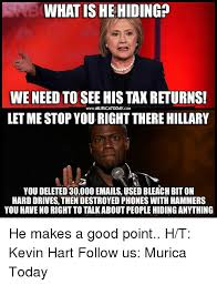 Kevin Hart Texting Meme - what is he hiding we need to see his tax returns wwwmuricatoday cam