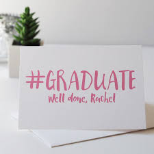 congratulations card personalised graduation card congratulations card graduation