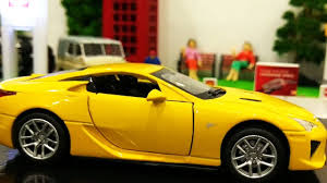 lexus lfa toy car car parking cartoon toy cars for kids cars and buses for children