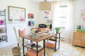 Modern Office Decor Ideas My Colorful Modern Farmhouse Office Decorating Ideas Four