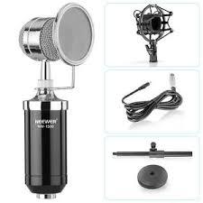 Microphone Bureau - neewer 1 nw 1500 microphone condensateur broadcast record