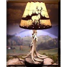 Antler Table Lamp Elk Antler Lamp Ebay