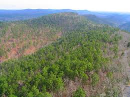 Ouachita Mountains Map View Of The Ouachita Mountains Looking East From Sprin U2026 Flickr