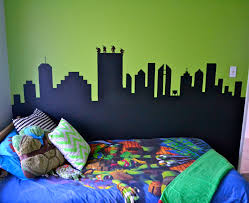 teenage mutant ninja turtle wall mural nolan room pinterest bright
