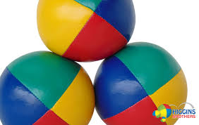 juggling balls beanbags thuds higgins brothers juggling gear
