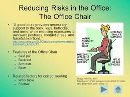 Osha Chair Requirements Part Iii Prevention Of Musculoskeletal Disorders Ppt Download