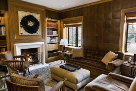 leather walls regal leather walls that put wallpaper to shame