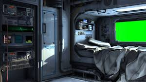 spaceship bedroom scifi spaceship bedroom with green screen movie background youtube